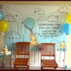 Other - Large Winnie The Pooh Baby Shower/Bday Banner